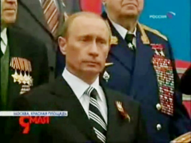 """...Presiden Federasi Rusia Mr. Vladimir.V.Putin..."""