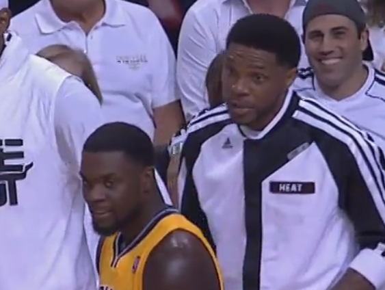 Heat's Udonis Haslem to Pacers' Lance Stephenson: 'I'm going to f— you up'(VIDEO)