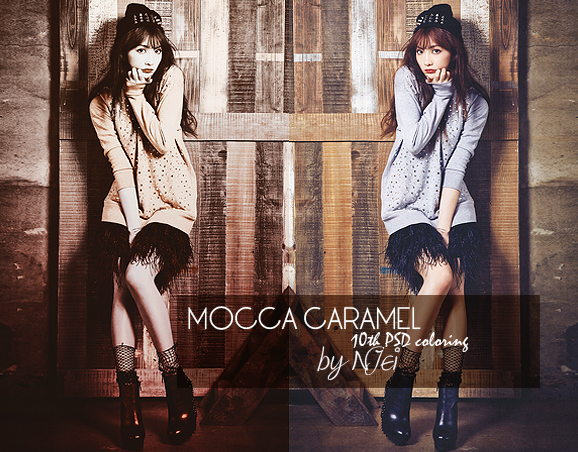 preview 10th PSD Coloring - Mocca Caramel by NJei