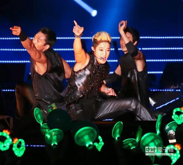 kim hyun joong konser taiwan 14 juli 2014