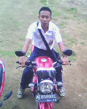 sugianto in motorcycle