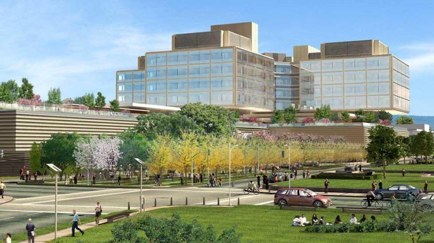 New Standford Hospital