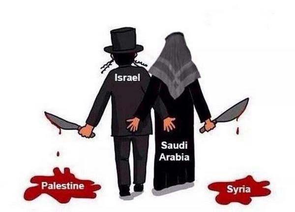Kejahatan Israel dan Saudi Arabia