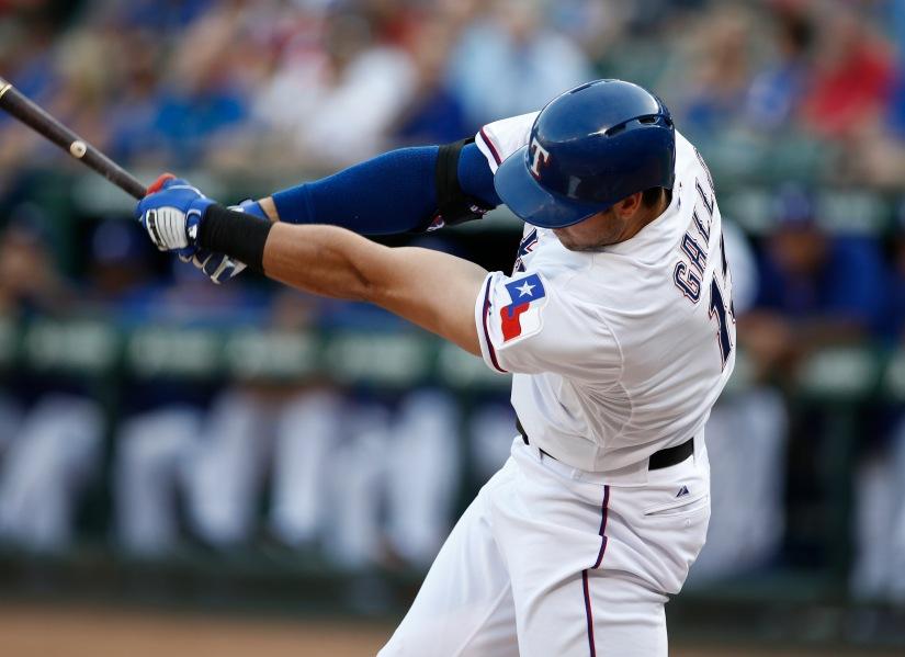 Video: Joey Gallo hit a baseball 461feet