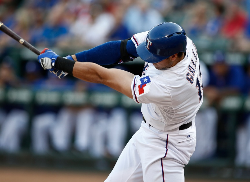 Video: Joey Gallo hit a baseball 461 feet