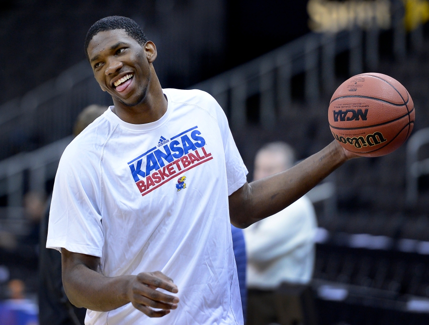 After sitting out all of last season, Joel Embiid suffers setback with foot recovery