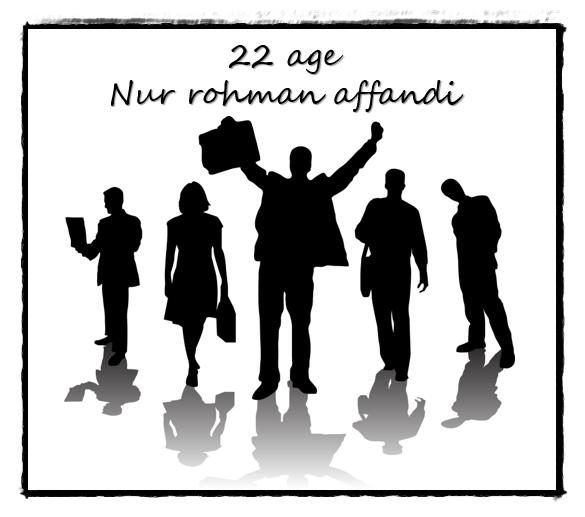22 tahun umur nur rohman affandi 2018