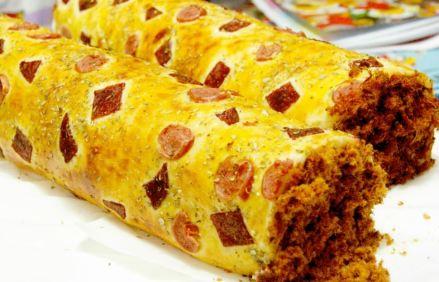 roti abon gulung papua