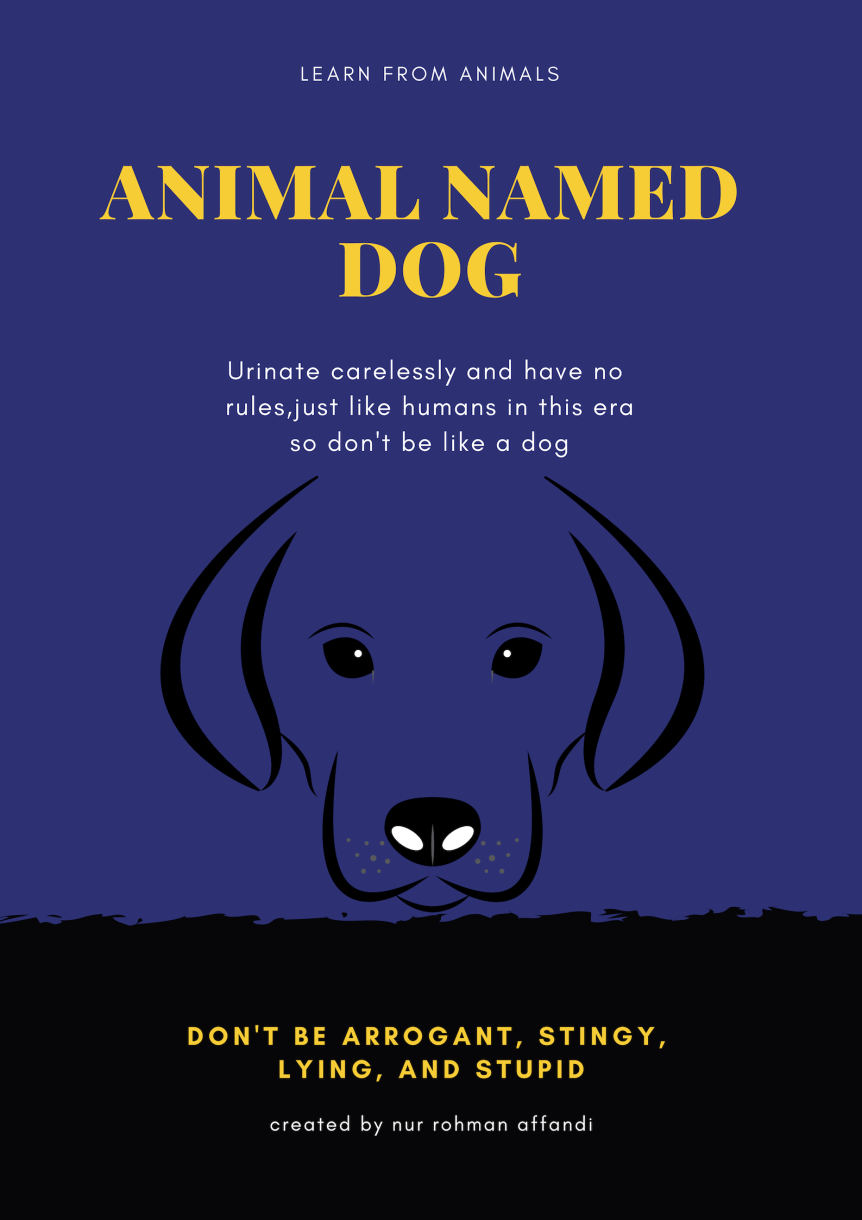 learning of animal named a dog